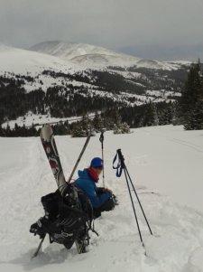 The ridge above Hoosier Pass