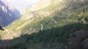 Road in Langtang national Park