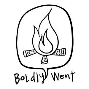 Boldly Went Logo